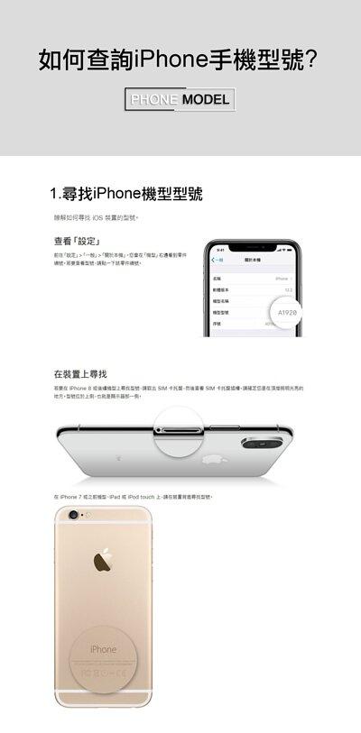 教你如何從iPhone手機中的設定查看自己的手機型號的手機畫面,或者從手機外觀上尋找型號