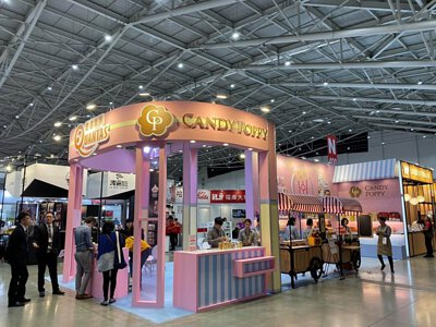 CANDY POPPY 在2019國際咖啡展盛大開幕!!