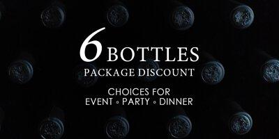 6 bottles pack