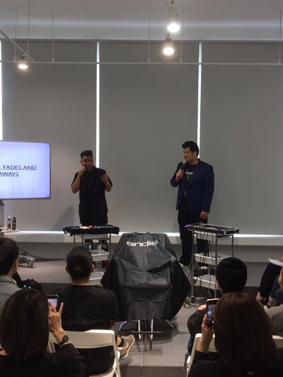 概亞形象美髮教育整合行銷 x Andis Taiwan 男士理髮教學課程