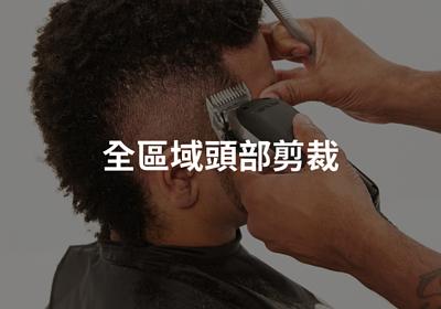 全區域頭部剪裁,頭部剪裁,理髮工具