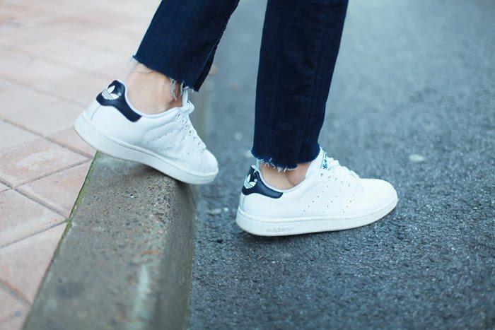 Adidas Stan Smith CF White Blue S80042
