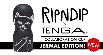 RIPNDIP×TENGA 聯名限量經典CUP