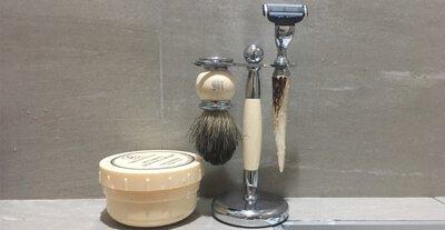 時尚雜誌編輯推薦,男人居家品味必備刮鬍刀組!