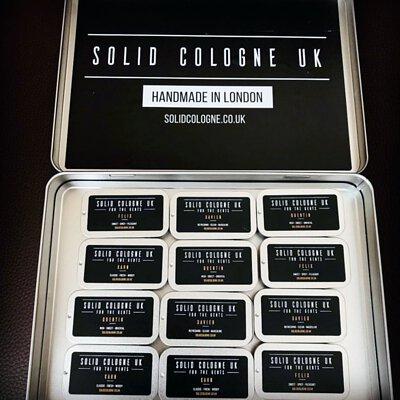 Solid Cologne UK - 固態古龍水(香膏、固態香水)