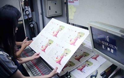 美·神靡 Goddess15面膜製作秘辛 印刷品質要求