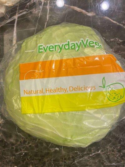 高麗菜1顆 (約1-1.5kg).