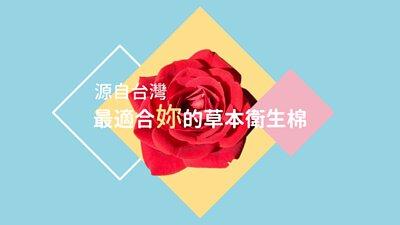 源自台灣 最適合、貼近你的草本衛生棉 Natural Path 自然好 原萃草本衛生棉