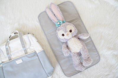 模擬尿布墊使用方式