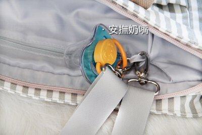 嬰兒車掛帶的隱藏功能 可掛奶嘴