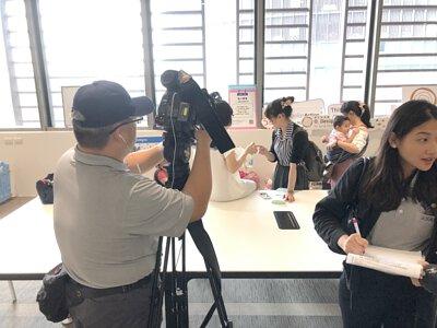 台灣布尿布育兒推廣協會喜可褲參訪