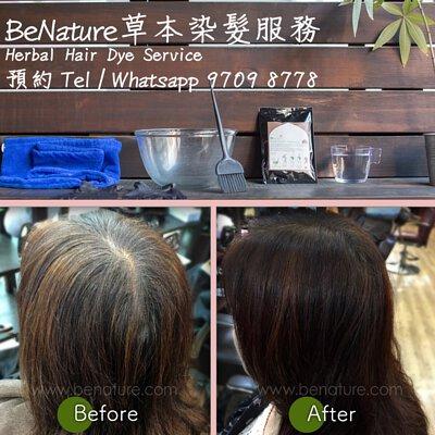 henna hairdye service HK