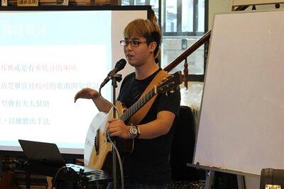 黃彥陸老師的自己的歌自己抓-採譜講座-上課剪影