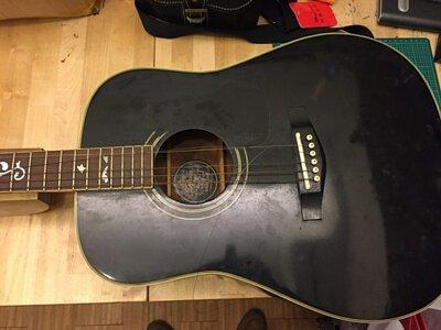 吉他琴身清潔打蠟換弦