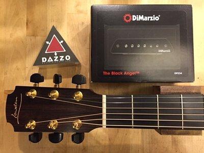 LowdenF32C安裝Dimarzio響恐拾音器加Dazzo貼片拾音器