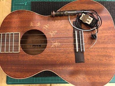 L.Luthier MAHO安裝Five.O拾音器