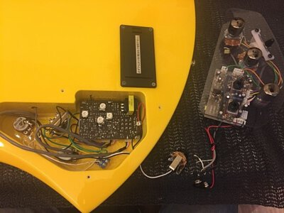 電吉他電路板故障換新