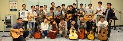 友達吉他社成果發表演活動剪影