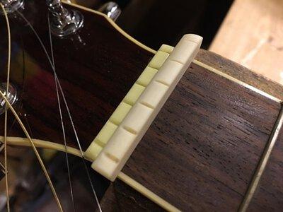 塑料吉他上弦枕更換牛骨吉他上弦枕