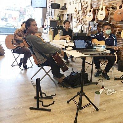 黃彥陸老師的彈唱編制前間奏的幾種簡單方式講座-上課剪影