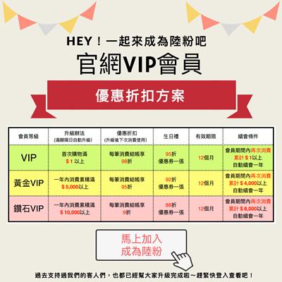 官網VIP折扣方案