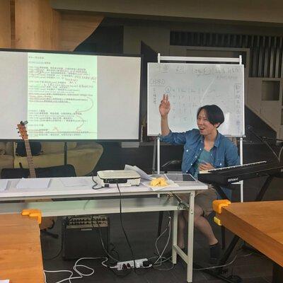 2018黃建為老師於陸比音樂舉辦詞曲創作營-上課剪影