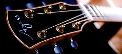 台灣Ayers吉他品牌形象照