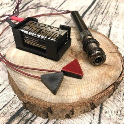 Dazzo吉他貼片吸盤拾音器