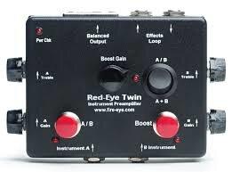 Fire eye - Red Eye Twin木吉他雙軌前級D.I