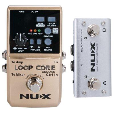 NUX Loop Core Deluxe 節奏鼓機