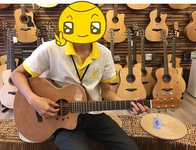 旅行吉他的大小示意圖