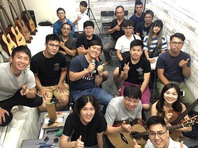 Ayers客製琴與AweSome奧昇T-line技術講座-活動大合照