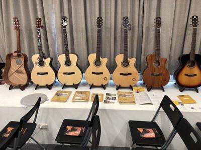 Ayers客製琴與AweSome奧昇T-line技術講座-Ayers各琴款展示