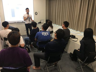 SV科學歌唱創辦人謝富安老師於陸比音樂舉辦歌唱講座-上課剪影
