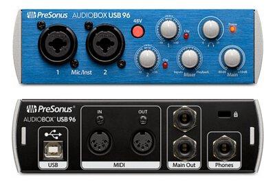 PreSonus AudioBox USB96錄音介面
