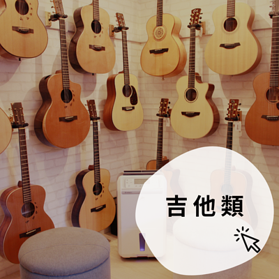 各式木吉他類別