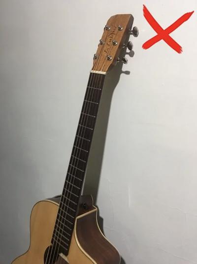 放置吉他的方式