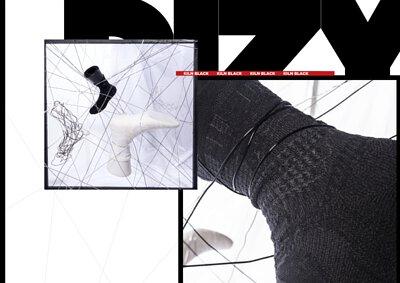 """台灣襪子設計品牌nozzle quiz 經典""""STREET AGILITY"""" 系列長襪,是從運動襪與機能襪為基礎,搭配街頭潮流造型,以3D立體織紋技術打造的機能襪履。2018 Summer """"Street Agility"""" DIZY新款企劃。"""
