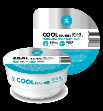 韓國 Lindsay 美容院專用杯裝軟膜粉 28g - 茶樹Tea Tree(鎮靜收復毛孔)
