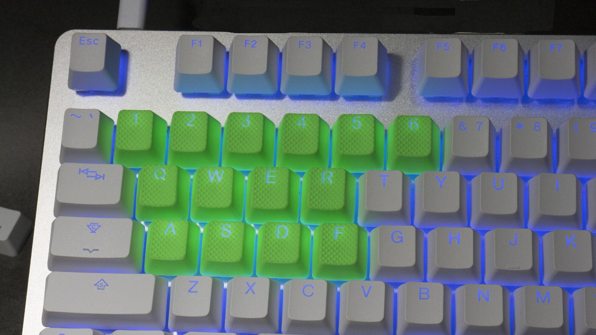 Tai-Hao Rubber Gaming Keycap Set