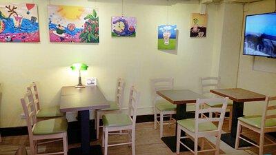 暖窩咖啡店內環境