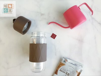 暖窩咖啡 浸泡式咖啡包步驟三注入冷水260c.c