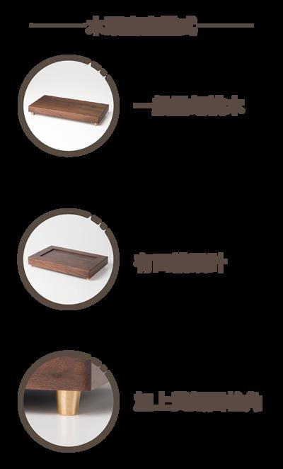 木頭底座樣式