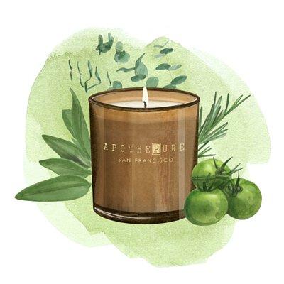 植萃草本 香氛蠟燭