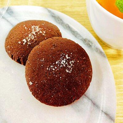 手作餅乾-鹽花巧克力餅乾