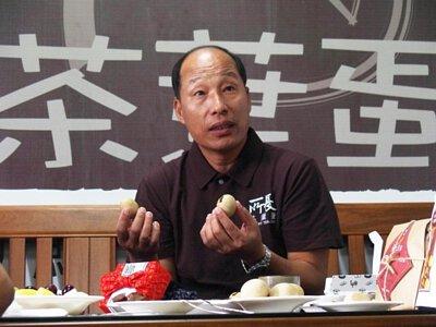 所長茶葉蛋-創辦人廖世華介紹茶葉蛋