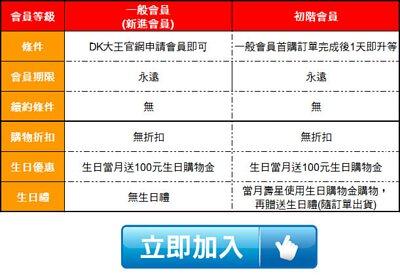 DK大王會員權益與回饋說明 | 一般會員、出階會員