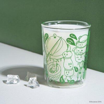 杯子,brosmind,玻璃雙層杯,禮物,設計,cozu,禮贈品,客製化