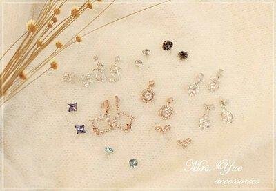 原來是美花 的部落客 美花 實戴分享的多款 Mrs.Yue & Miss.Yue 無痛夾式耳環