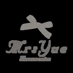 Mrs.Yue 夾式耳環 Logo